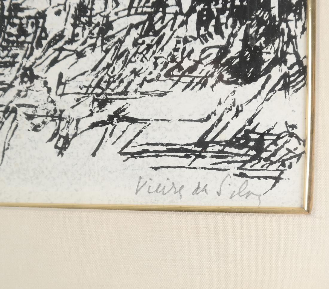 Maria Helena Vieira da Silva, Abstract Composition - 3