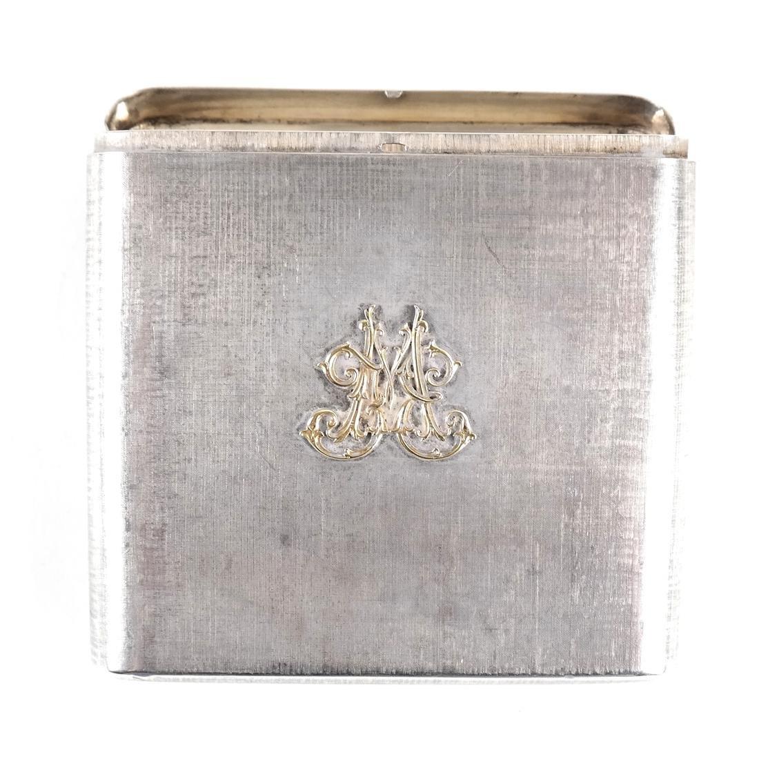 Mario Buccellati, Sterling Silver Cigarette Case