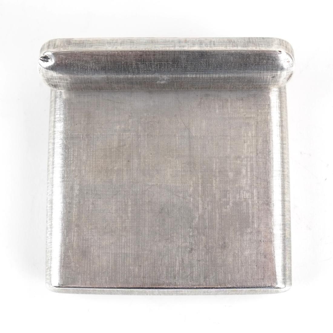 Mario Buccellati, Sterling Silver Cigarette Case - 2