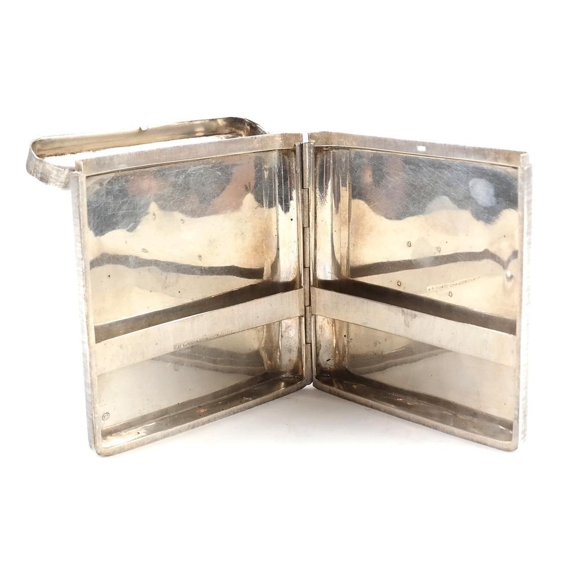 Mario Buccellati, Sterling Silver Cigarette Case - 3