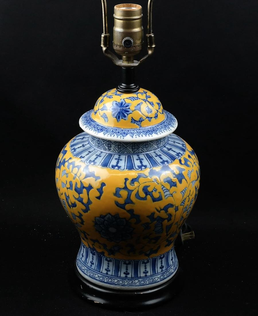 Asian-style Ginger Jar Table Lamp