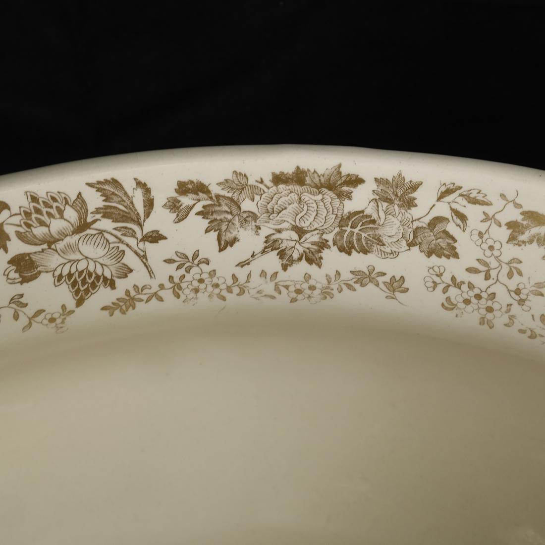Parcel Gilt Ceramic Jardiniere - 4