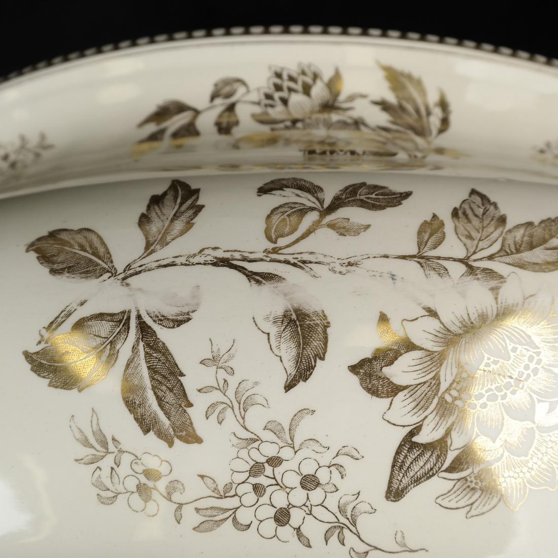 Parcel Gilt Ceramic Jardiniere - 9