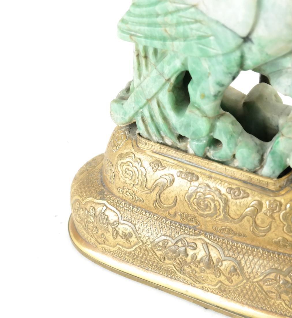 Asian-Style Hardstone Lamp - 5