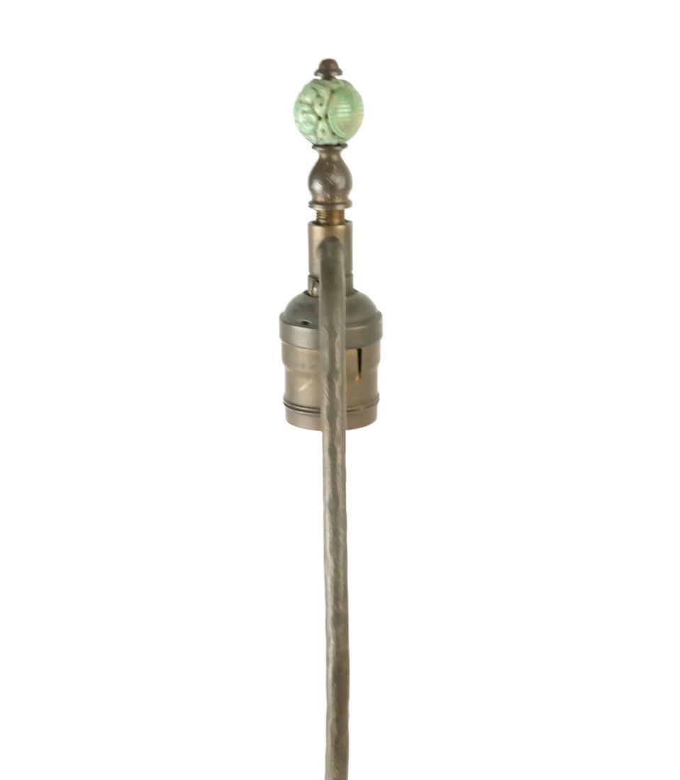 Asian-Style Hardstone Lamp - 7