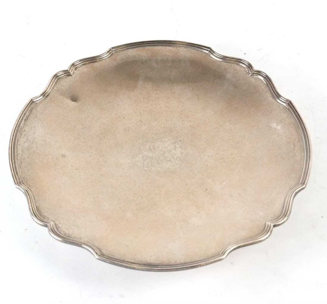 American Sterling Low Tazza