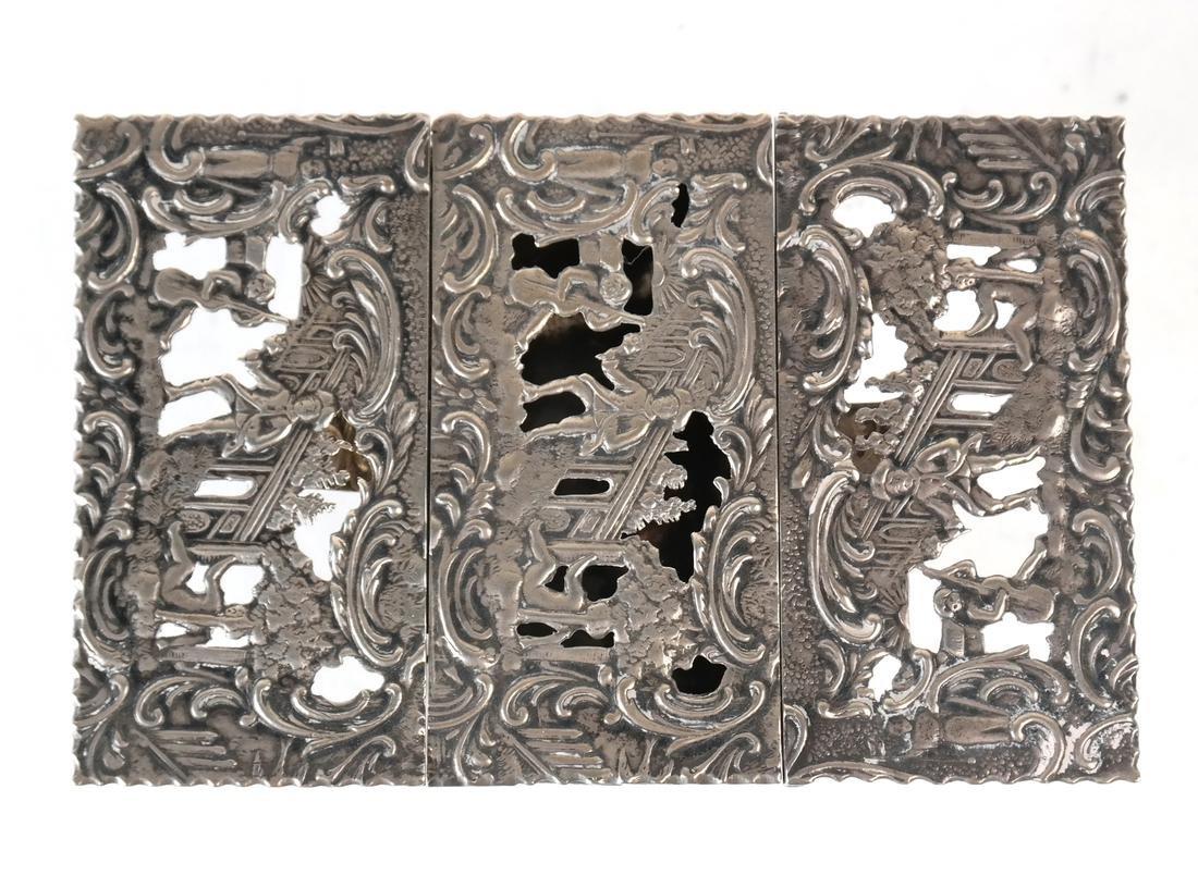 Dutch .800 Silver Miniature Table - 2