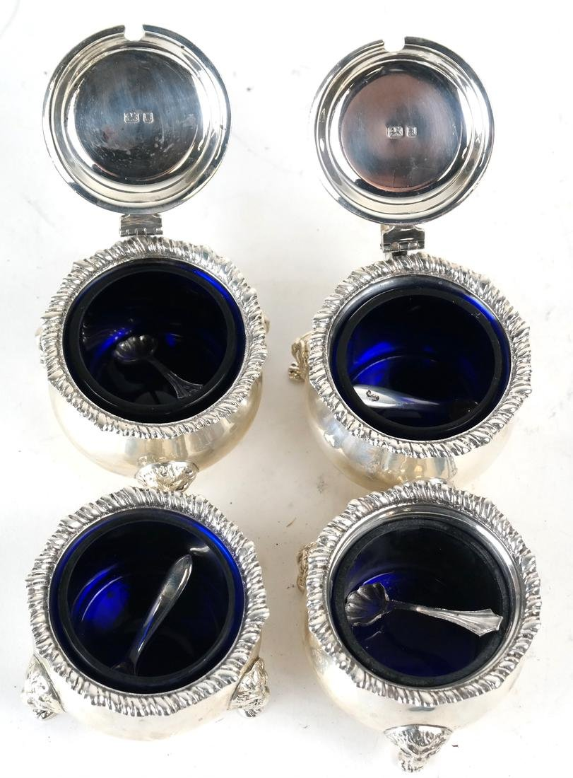 Five English Sterling Serving Articles