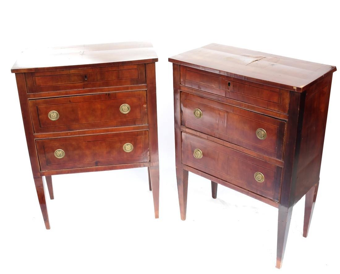 Pair of Antique Italian Commodes