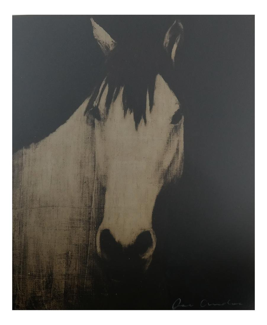 Joe Andoe, 3 Horse Lithographs - 8