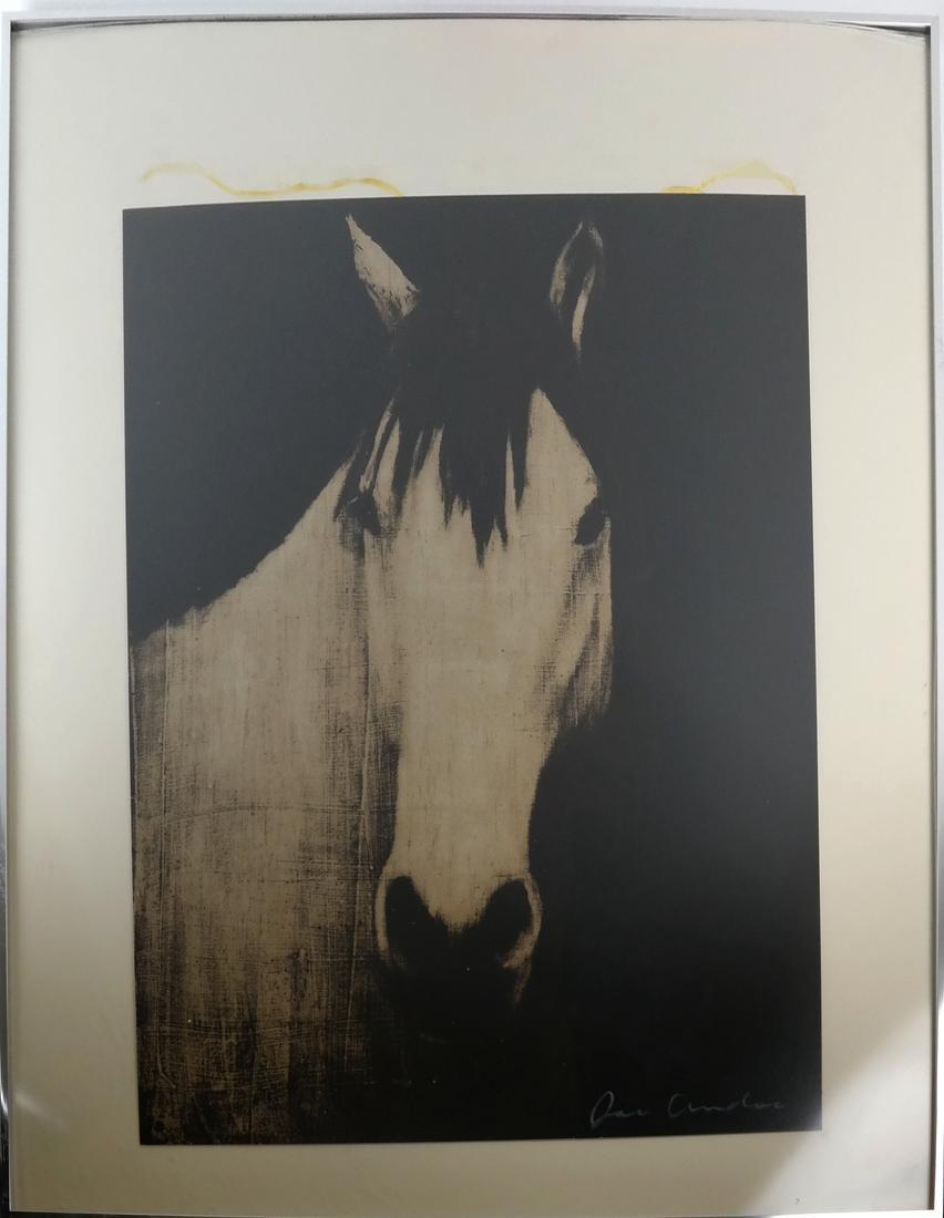 Joe Andoe, 3 Horse Lithographs - 9