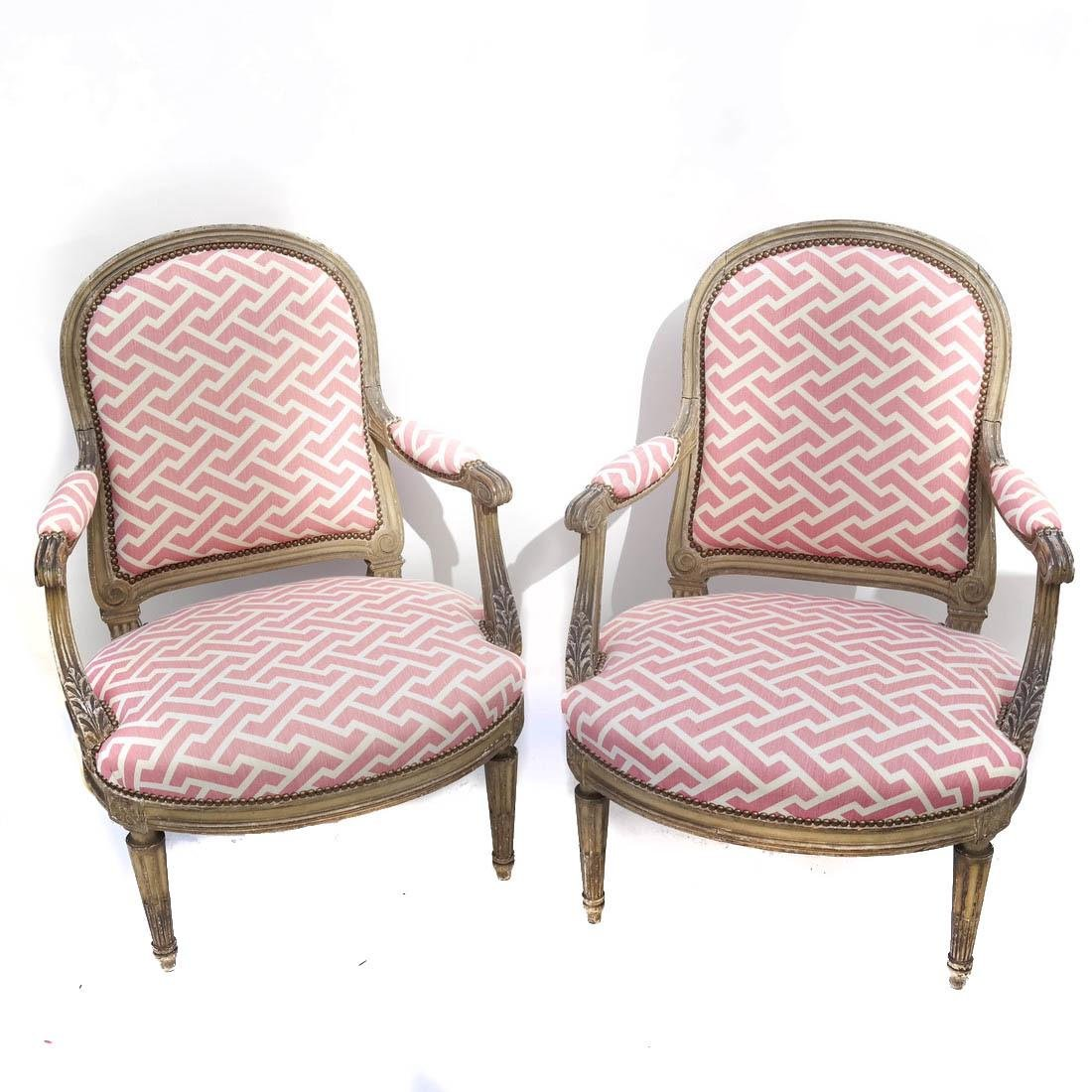 Pair 19th Century French Chairs