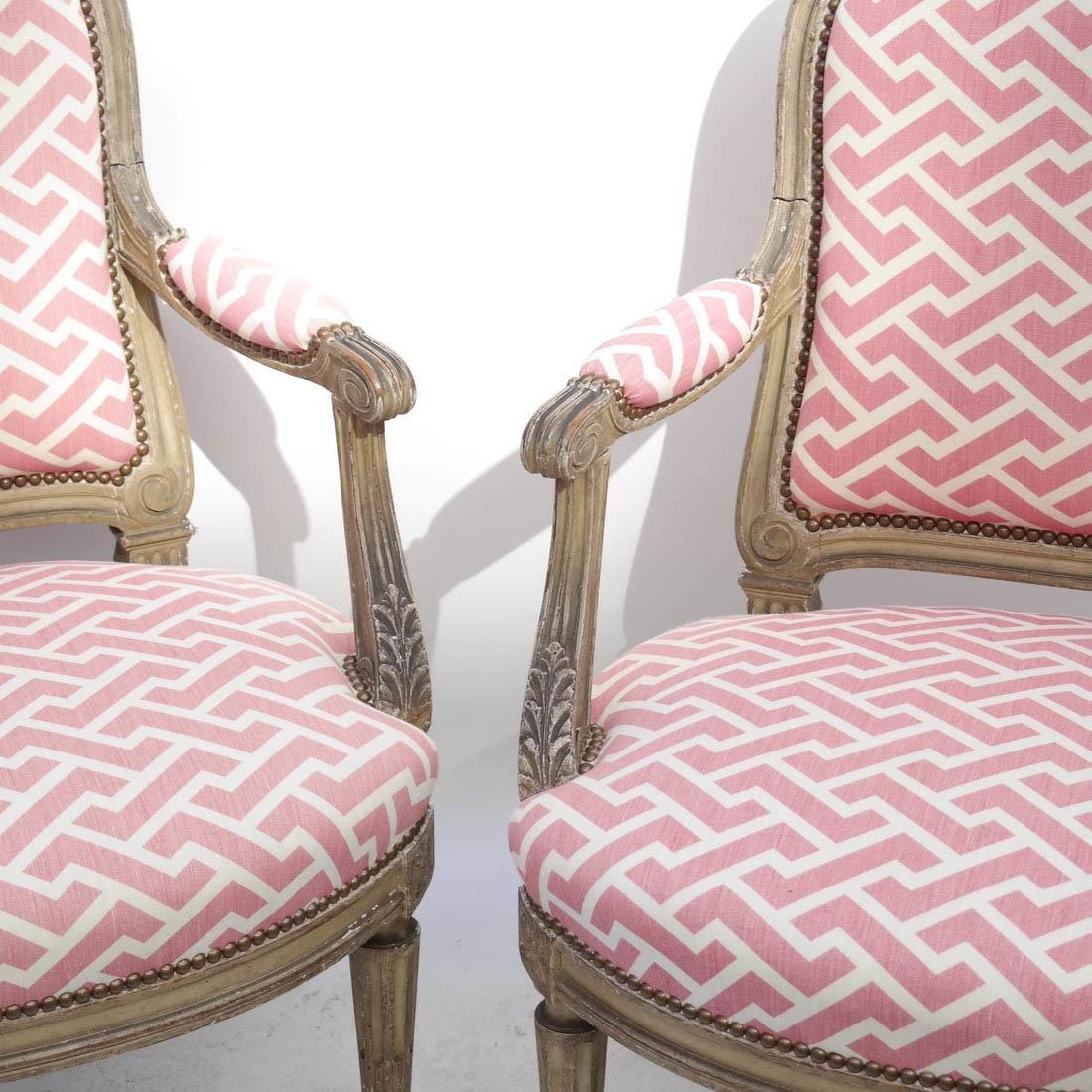 Pair 19th Century French Chairs - 2