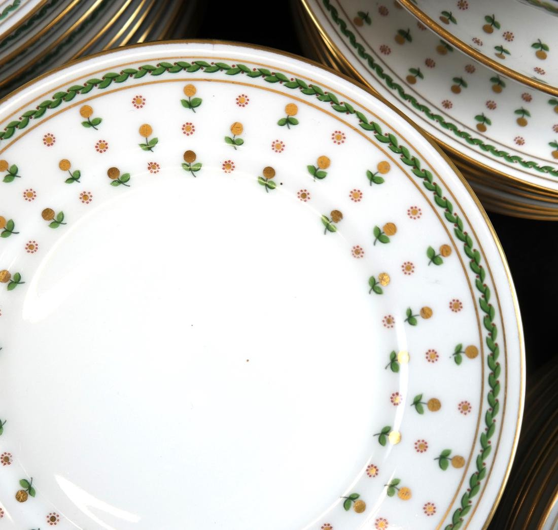 Partial French Porcelain Dinner Service - 2