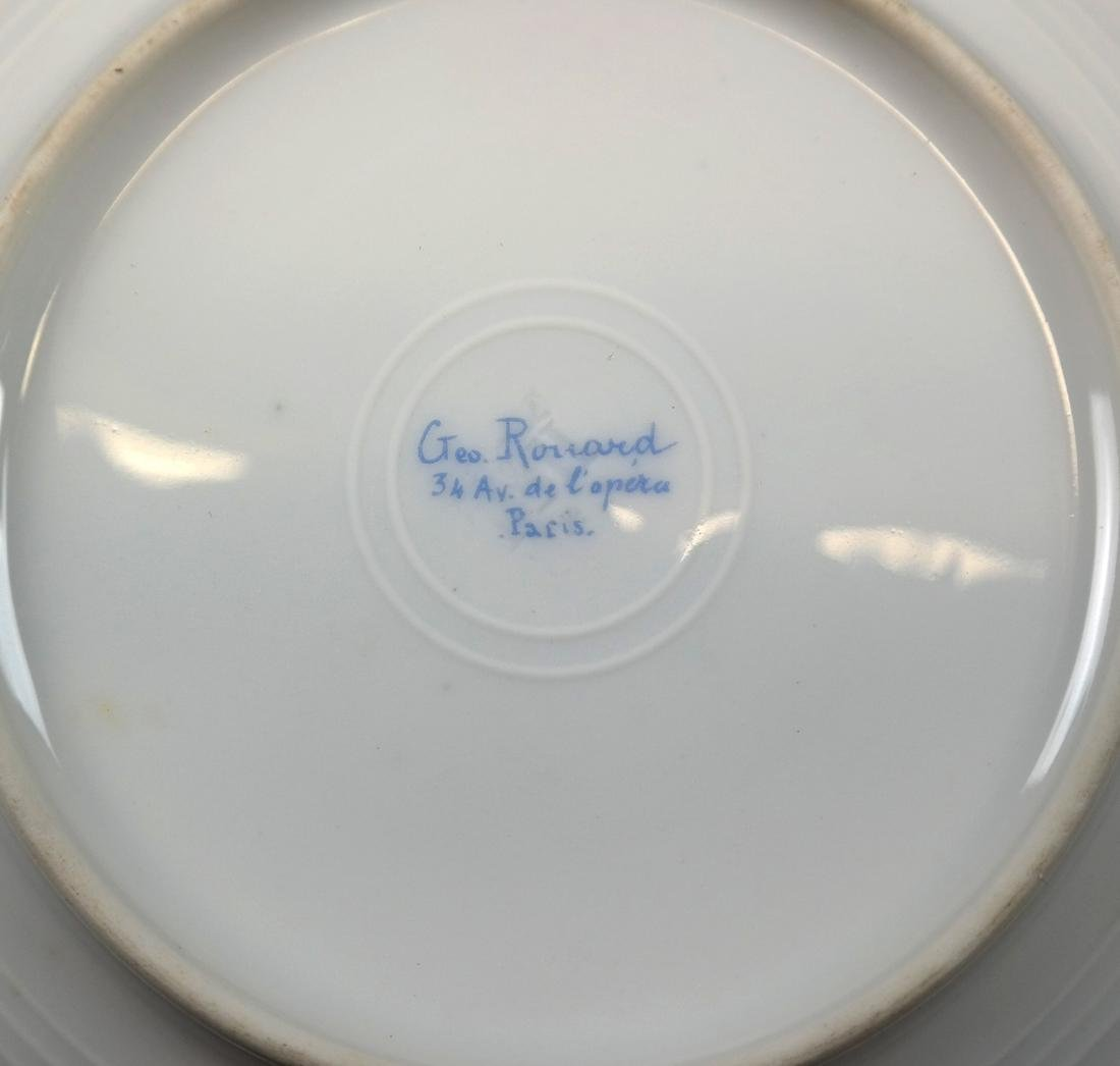 Partial French Porcelain Dinner Service - 5
