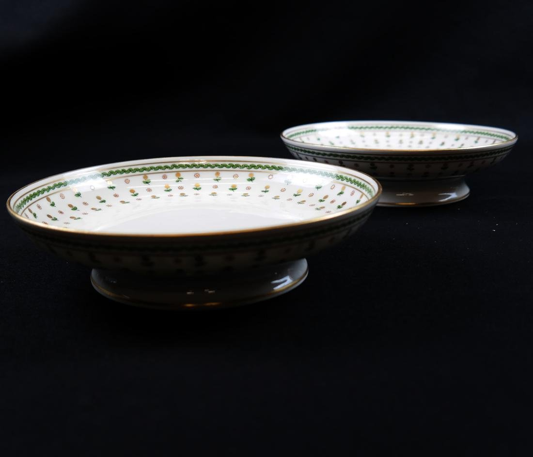 Partial French Porcelain Dinner Service - 8