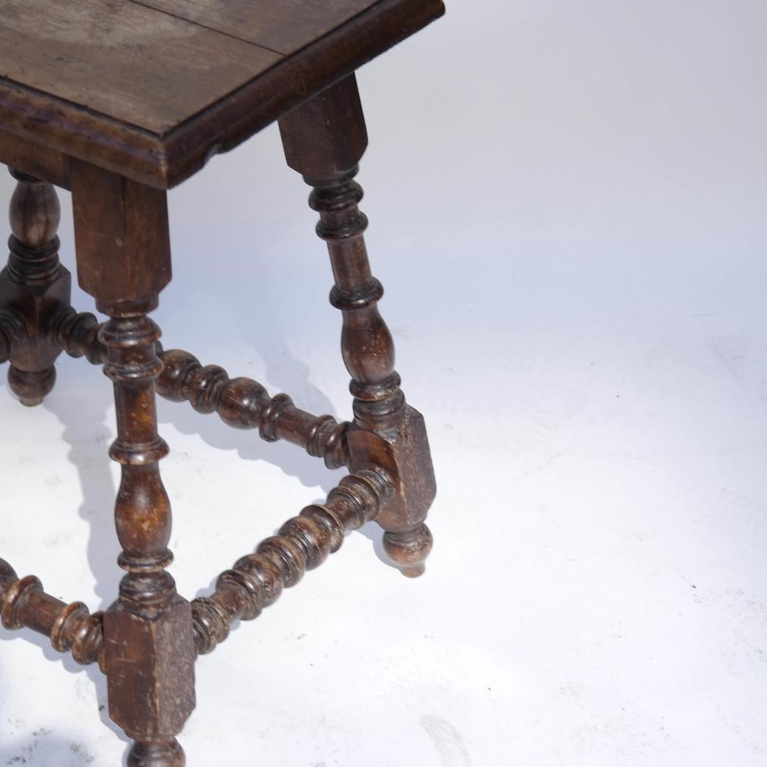 Pair 19th Century English Joined Stools - 4