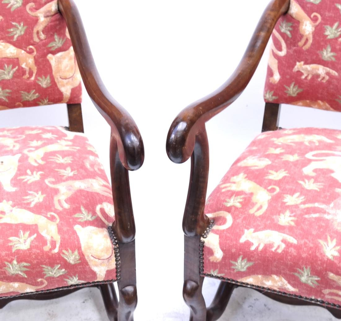 Pair of 19th Century Continental Chairs - 4