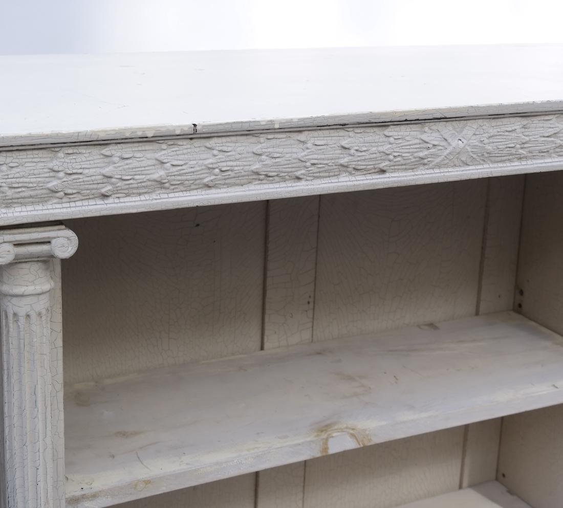 Distressed Finished Bookcase - 3