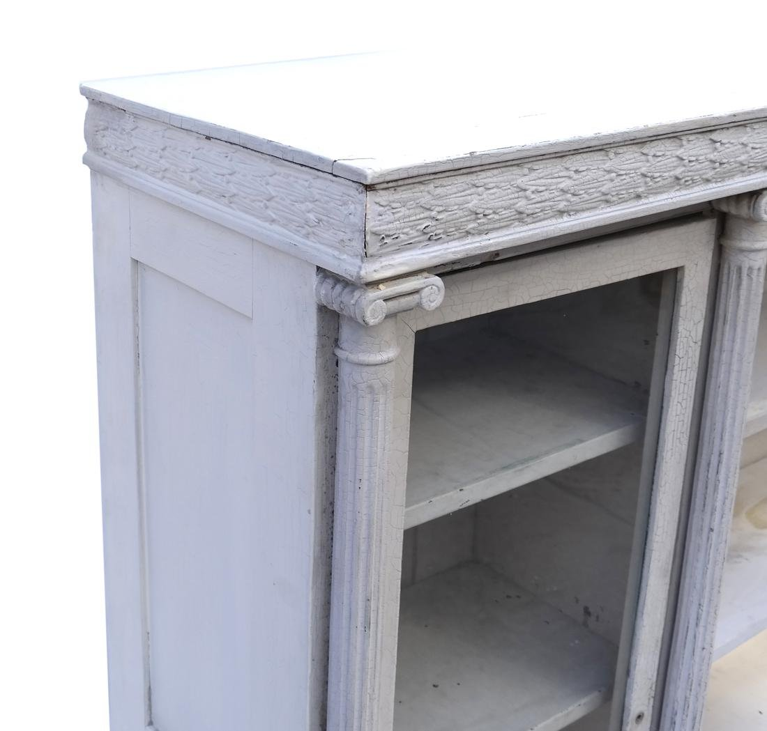 Distressed Finished Bookcase - 4