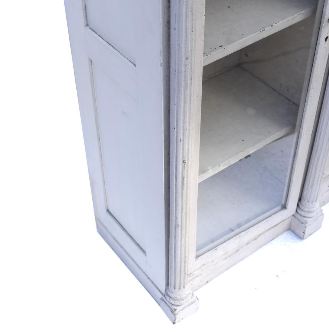 Distressed Finished Bookcase - 5