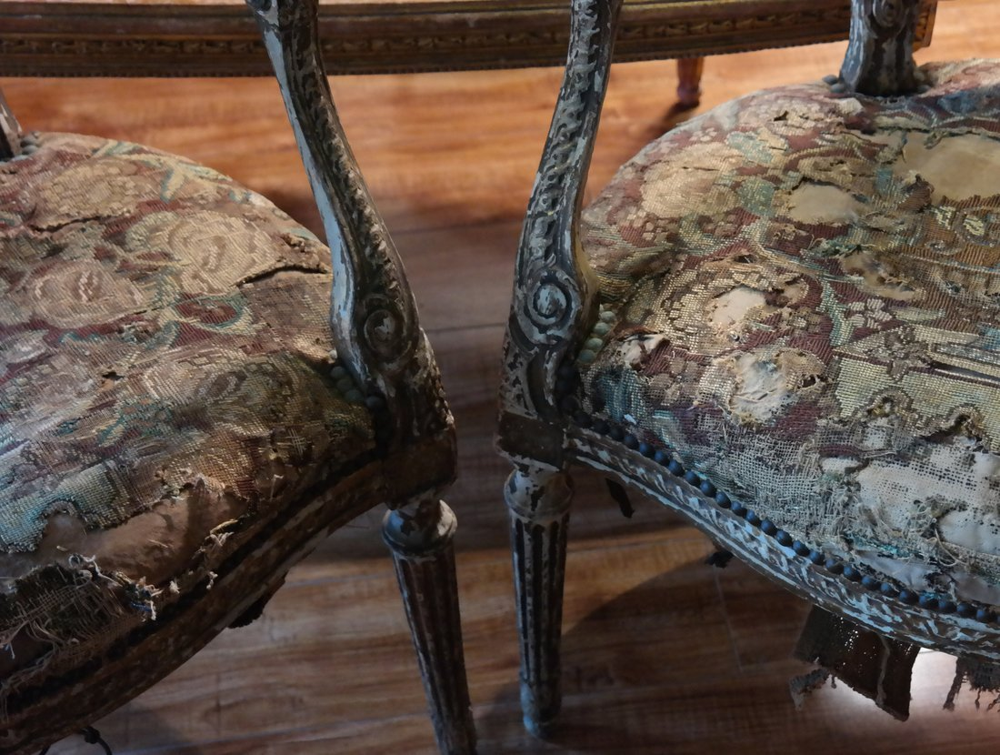 Pair of French Armchairs - 2