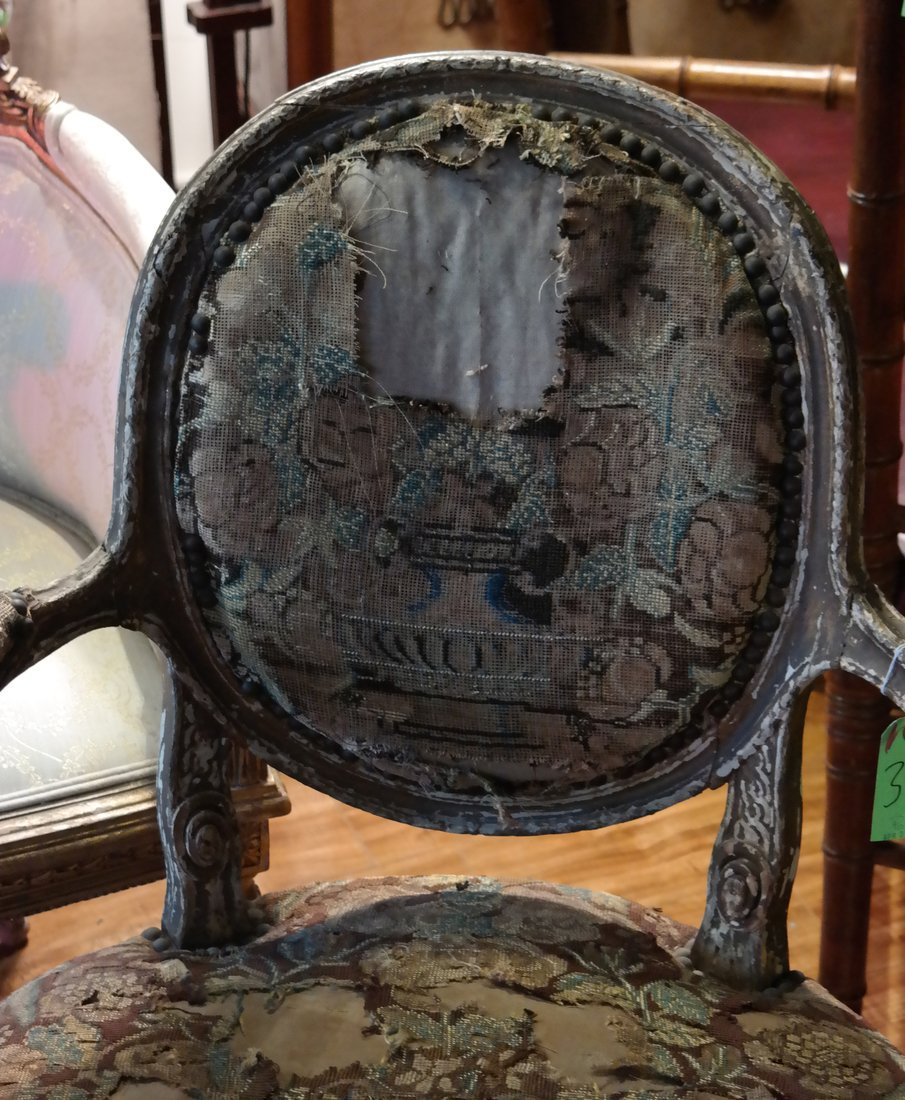 Pair of French Armchairs - 3