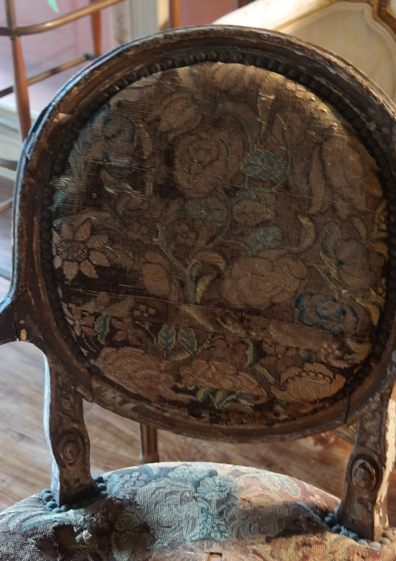 Pair of French Armchairs - 4