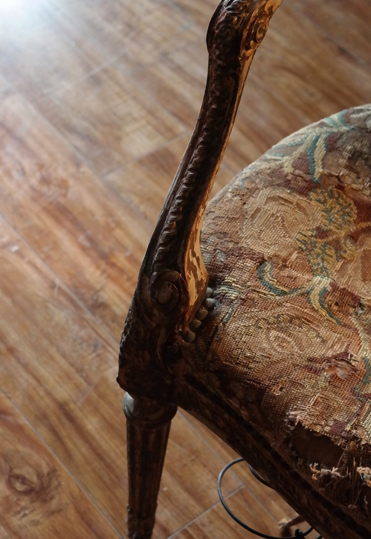 Pair of French Armchairs - 5