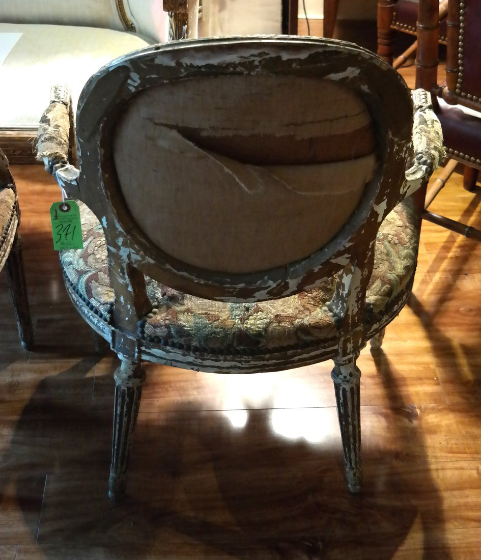 Pair of French Armchairs - 7