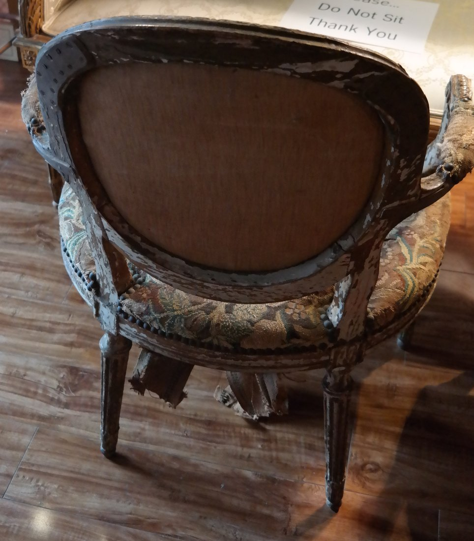 Pair of French Armchairs - 8