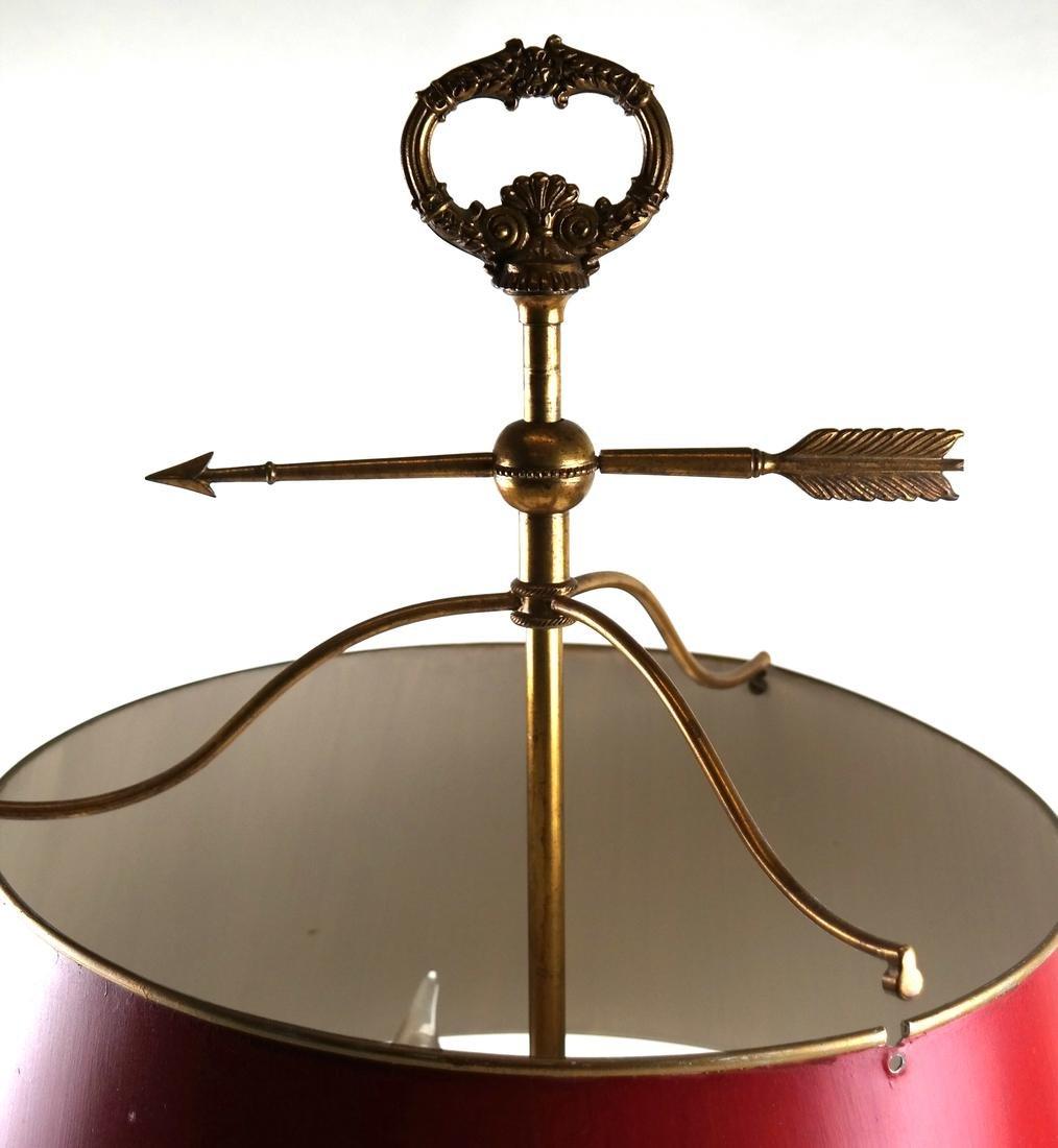 Gilt Bronze Three-Light Bouillotte Lamp - 4