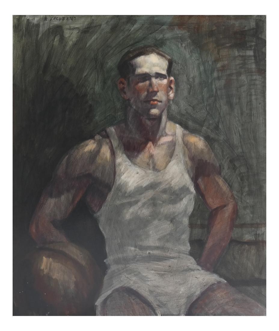 Bruce Sargeant, Male Portrait