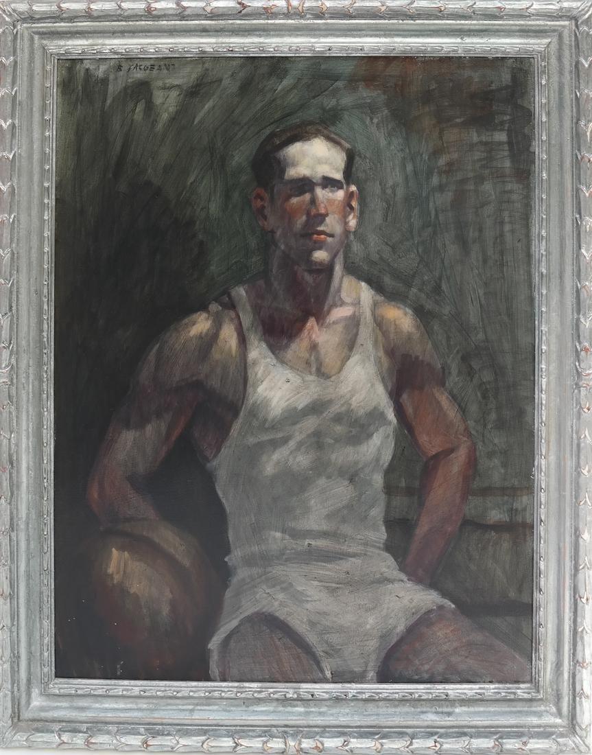 Bruce Sargeant, Male Portrait - 2
