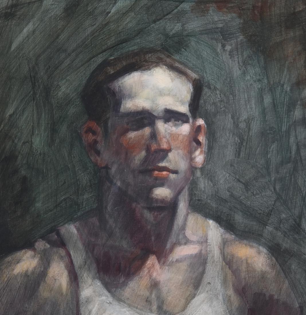 Bruce Sargeant, Male Portrait - 3
