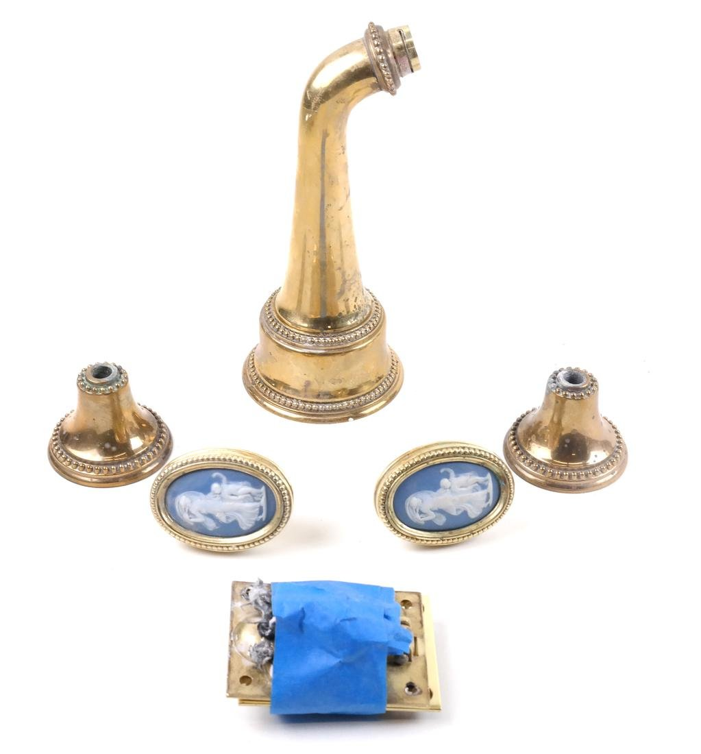 Group of Brass Hardware