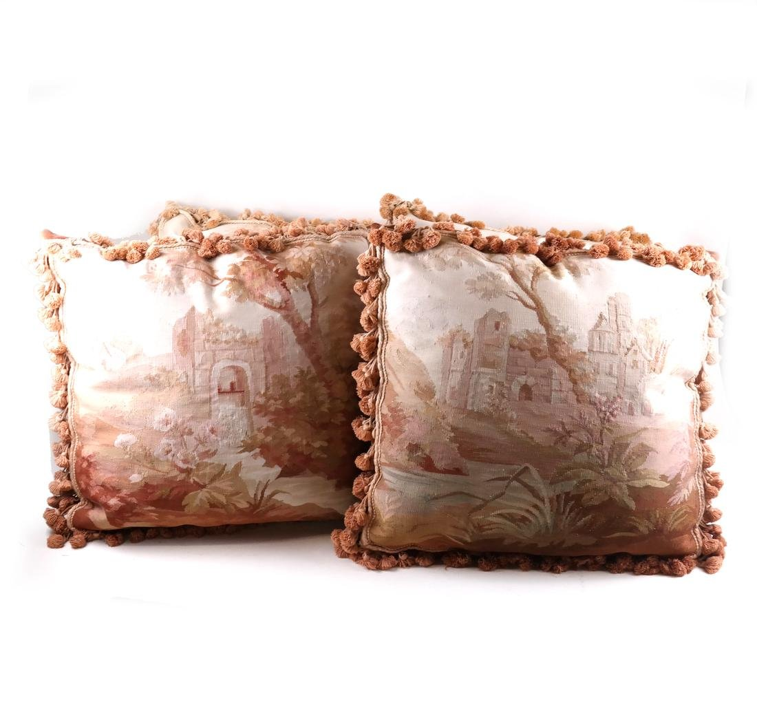Set of 4 Tapestry Pillows
