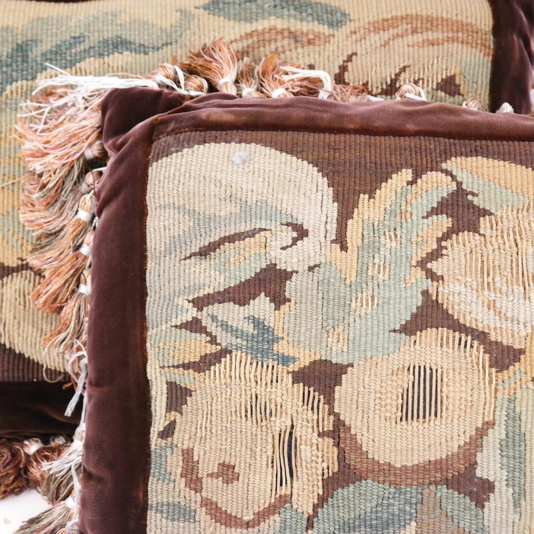 Pair of Needlepoint Pillows - 2