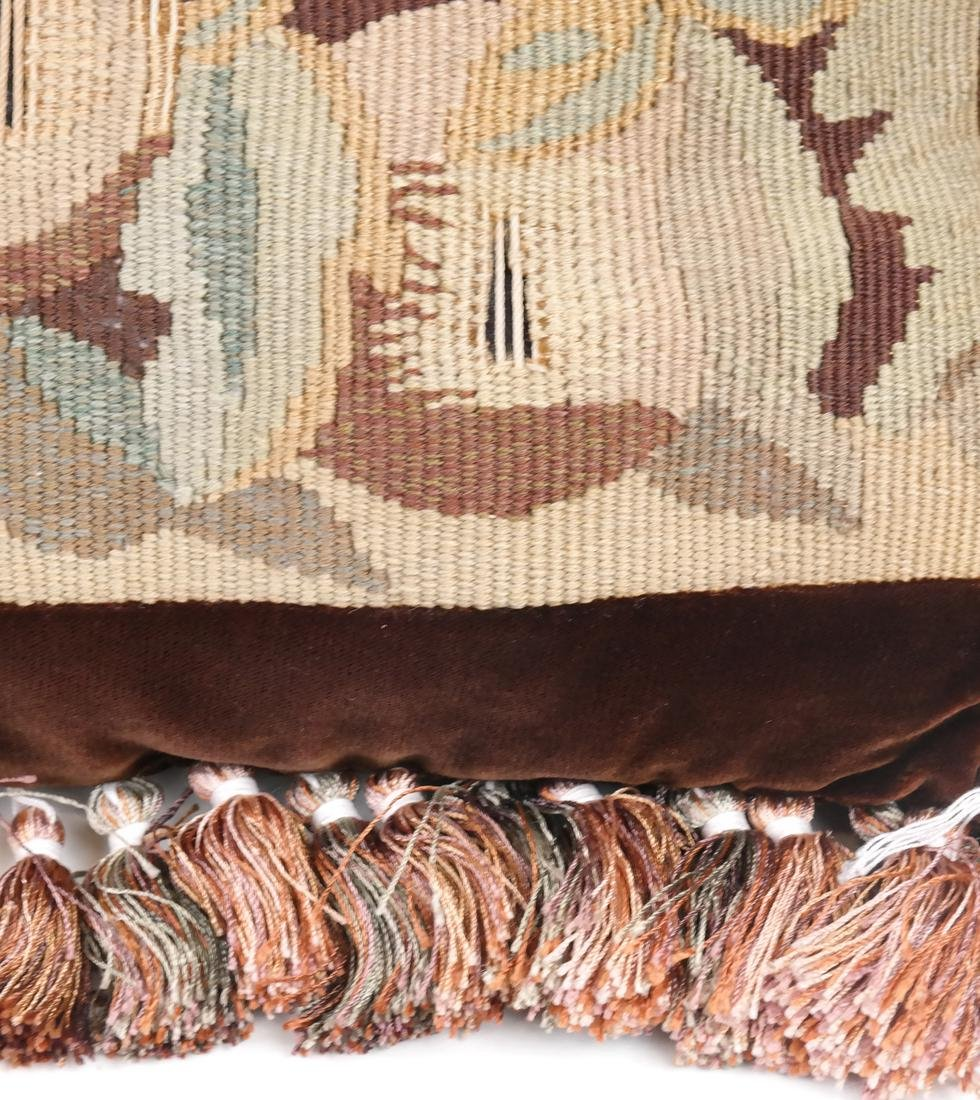 Pair of Needlepoint Pillows - 3