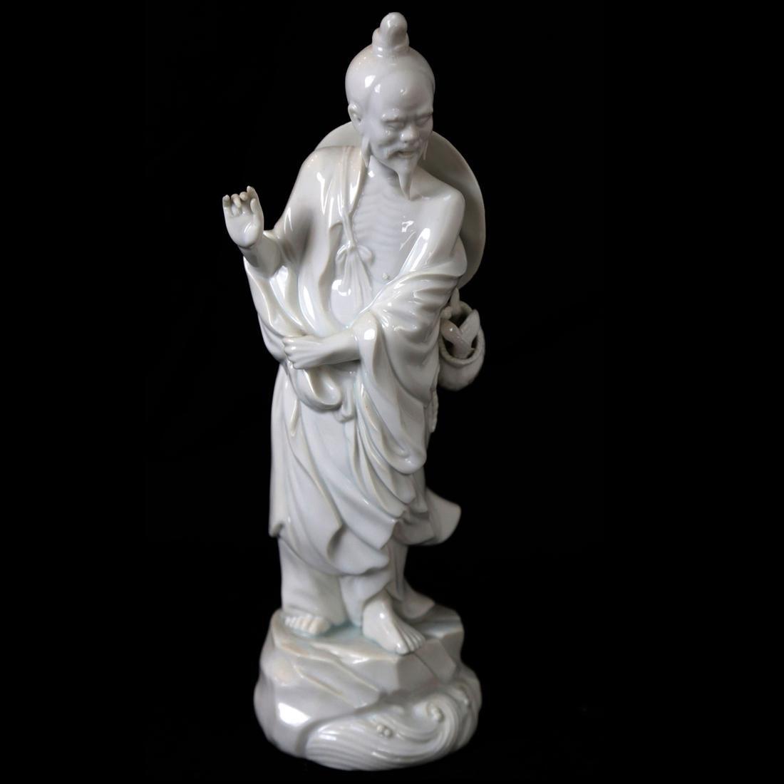 Chinese Blanc de Chine Male Figure