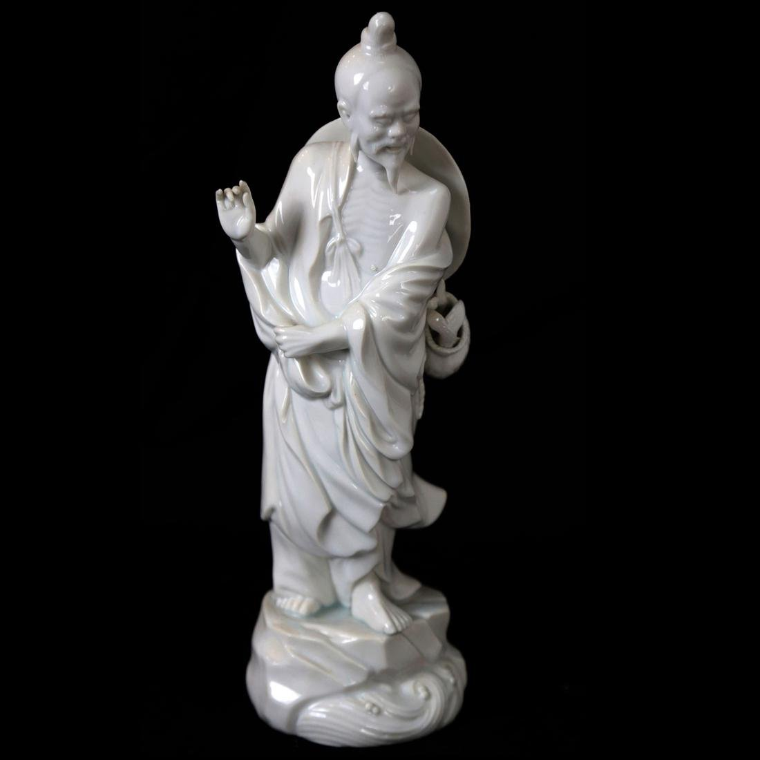 Chinese Blanc de Chine Male Figure