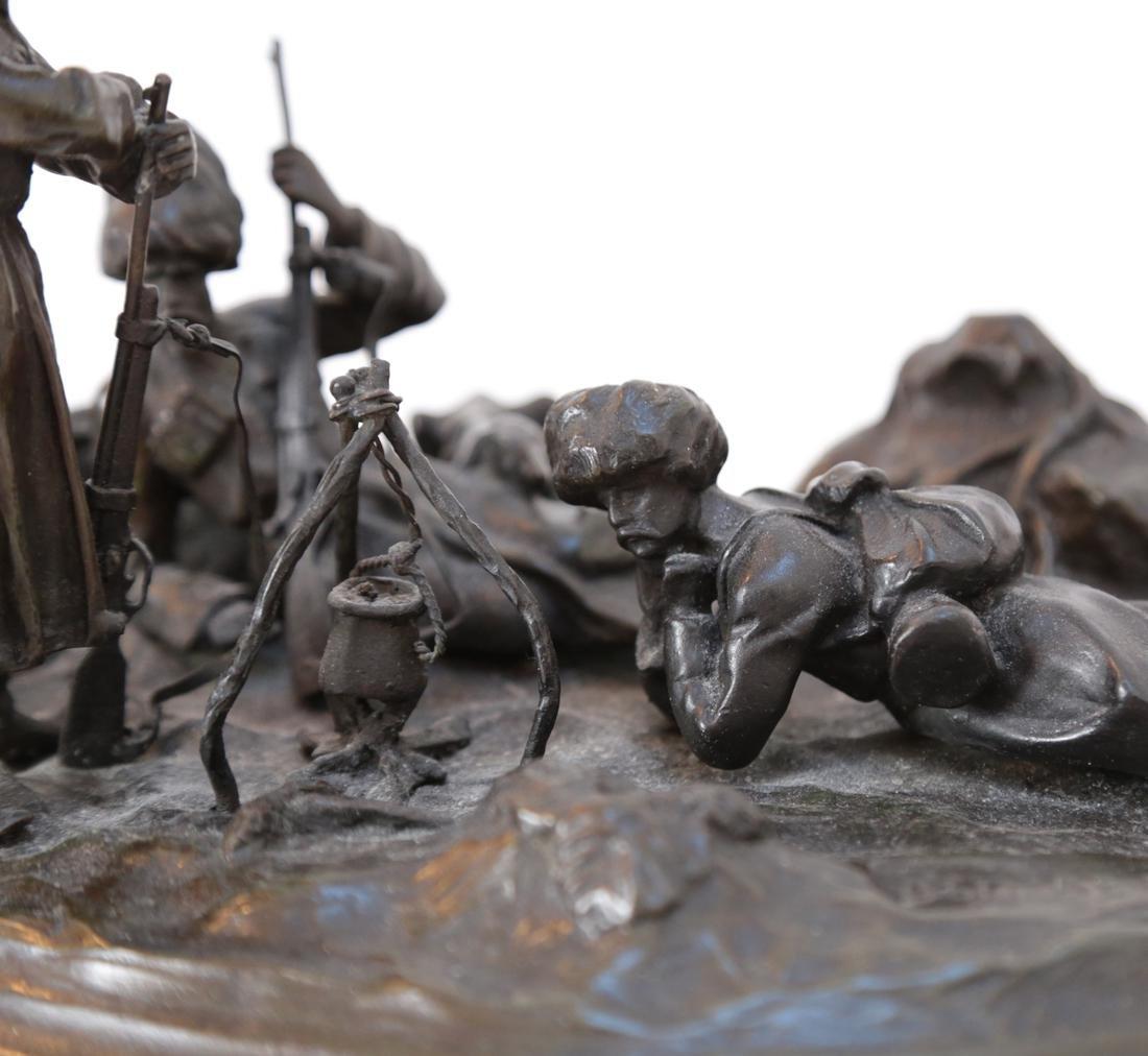 Russian Bronze Relief Sculpture - 6