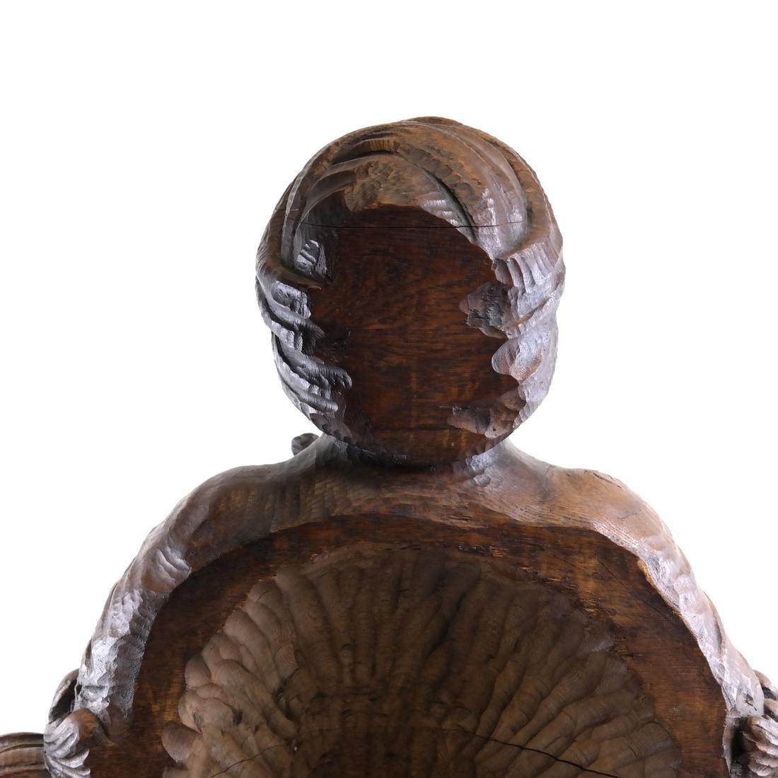 19th Century Wood Tobacconist Sculpture - 3