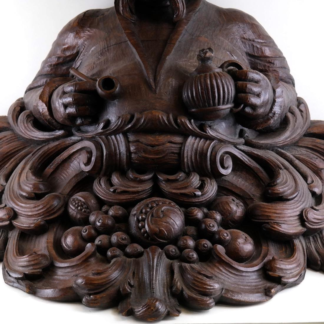 19th Century Wood Tobacconist Sculpture - 5