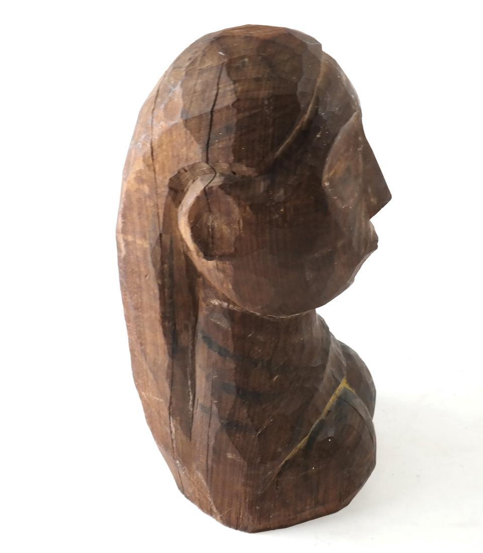 Oceanic Carved Hardwood Bust - 2