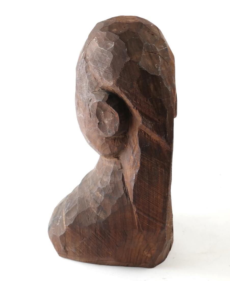 Oceanic Carved Hardwood Bust - 3