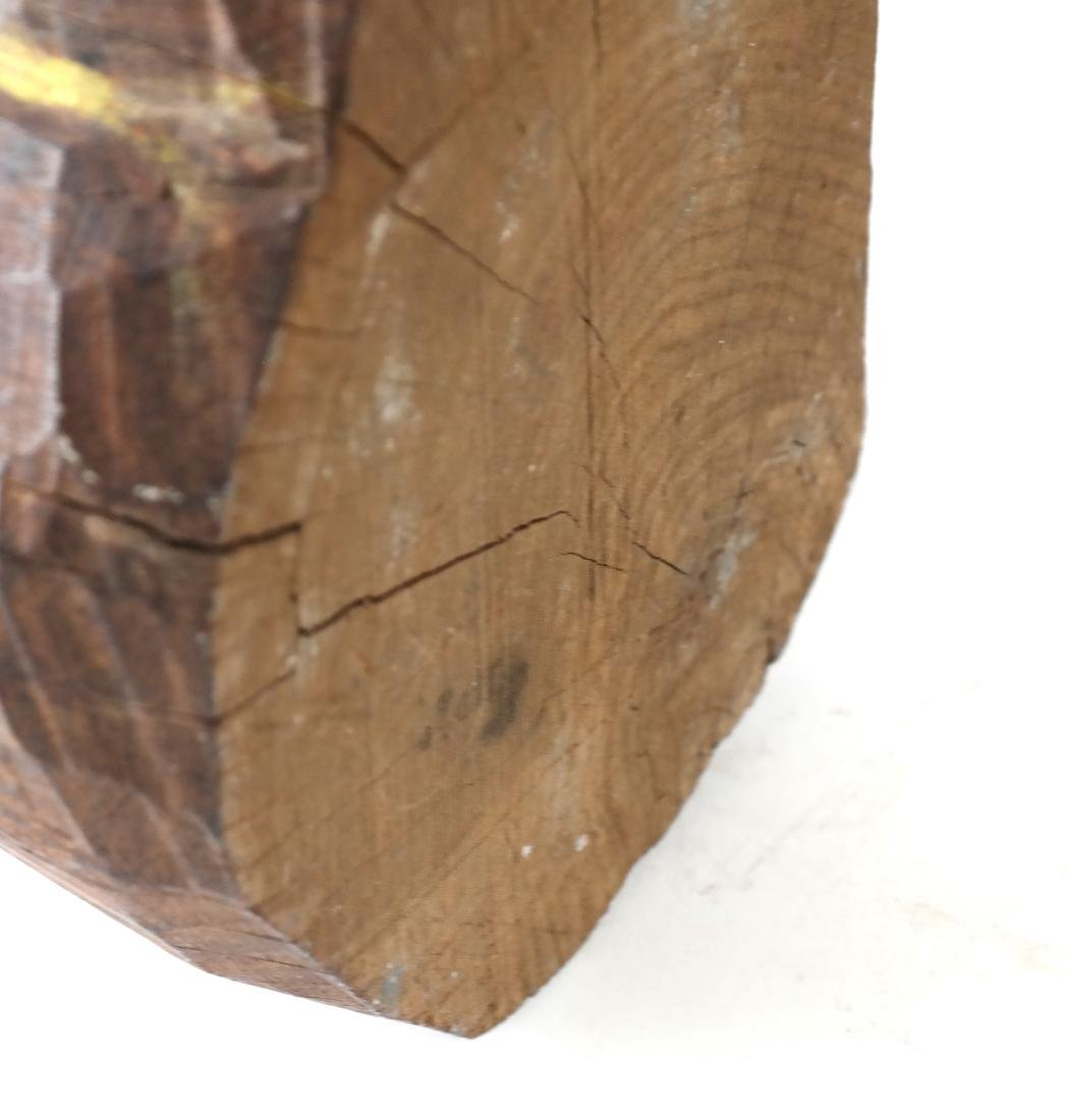 Oceanic Carved Hardwood Bust - 6