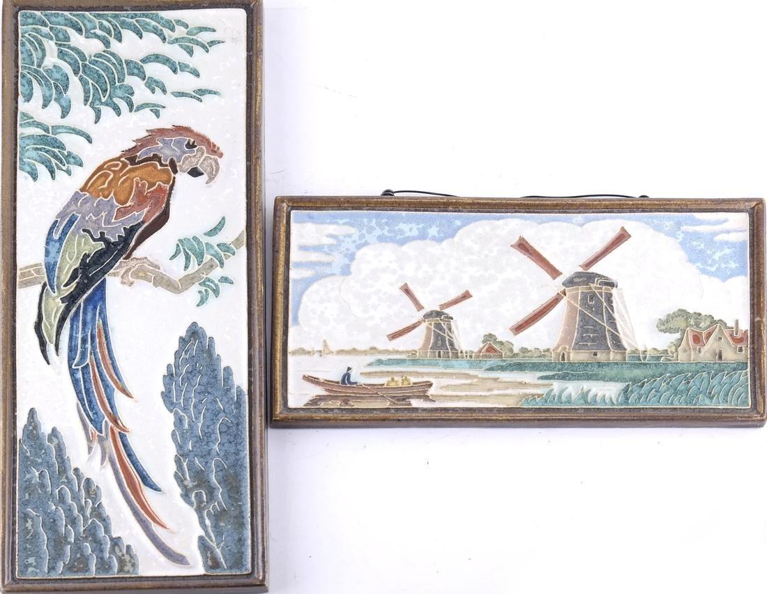 Delft de Porceleyne Decorated Tiles