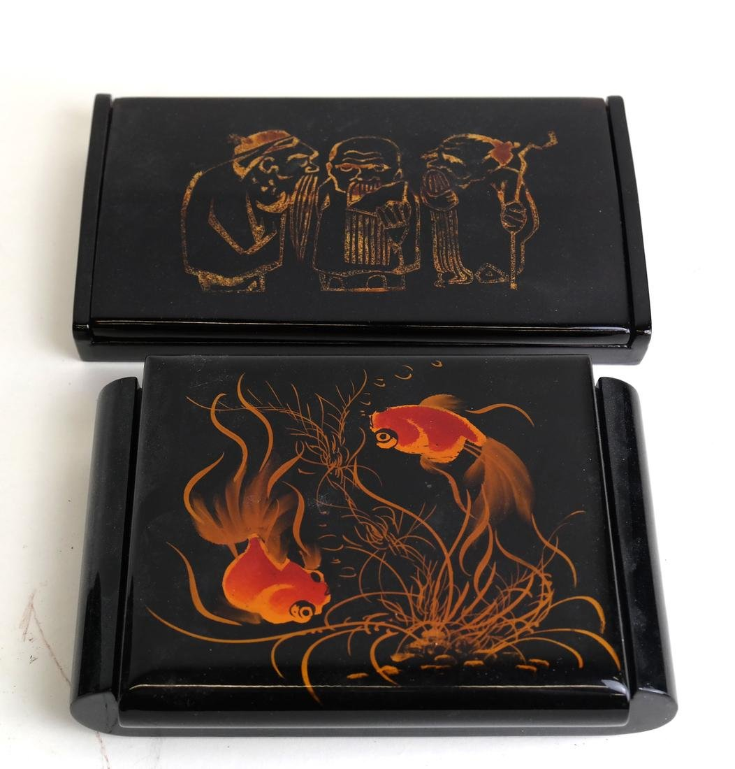 Group of Lacquerware - 3