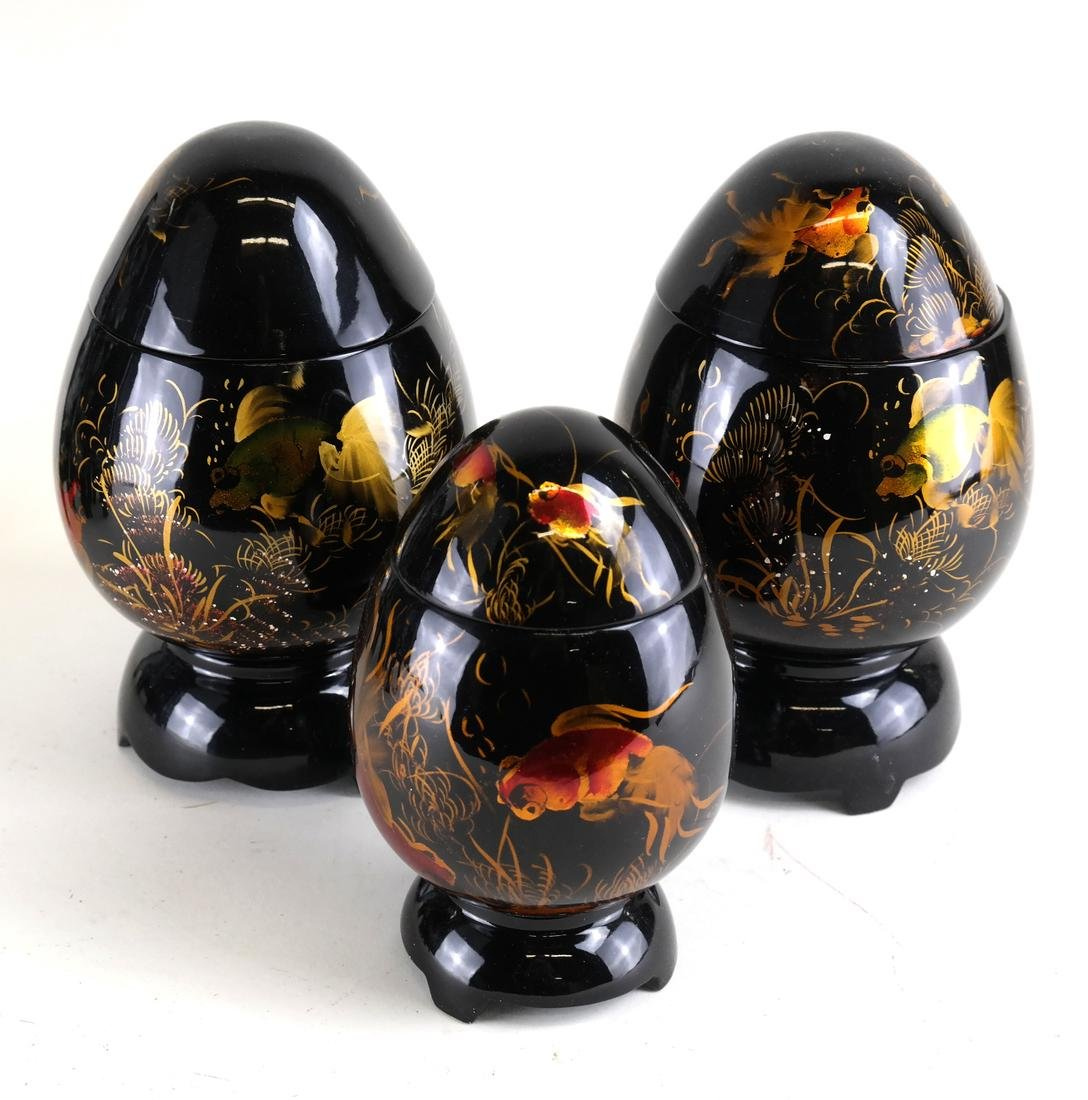 Group of Lacquerware - 5